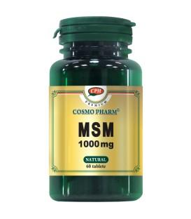 Premium MSM 1000 mg, 60 capsule