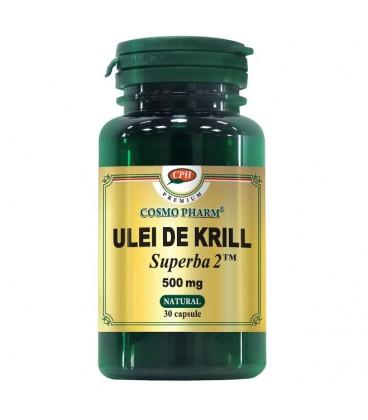 Premium Ulei de Krill Superba  500 mg, 30 capsule
