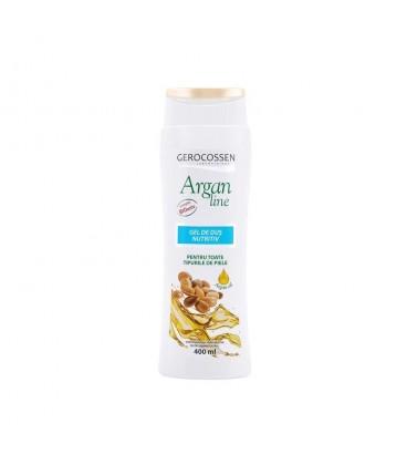 Argan Line -Gel de dus nutritiv , 400 ml