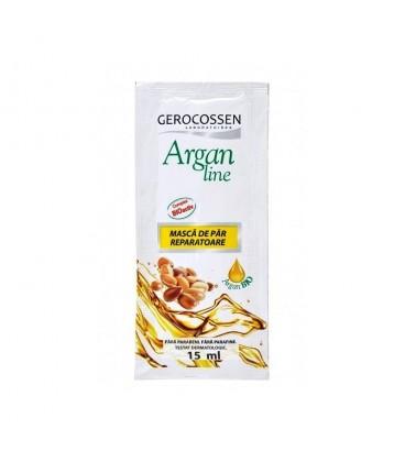 Argan Line-Masca pentru par  la plic, 15 ml