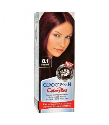 Argan Silk & Shine Color Plus Vopsea de par  nr 8.1 Burgundi