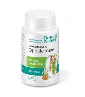 Concentrat de otet de mere, 30 capsule