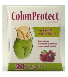 Colon Protect cu fibre naturale, 20 doze