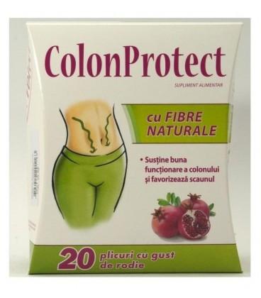 Colon Protect cu fibre naturale, 20 doze