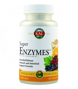 Super Enzymes, 30 tablete