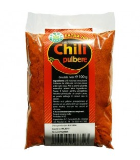 Chili pudra extra hot, 100 grame