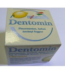 Dentomin-H praf de dinti cu spumant de lamaie, 25 grame