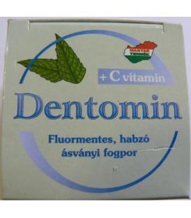 Dentomin-H praf de dinti cu spumant de menta, 25 grame