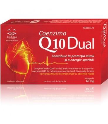 Coenzima Q10 Dual 60 mg, 30 capsule