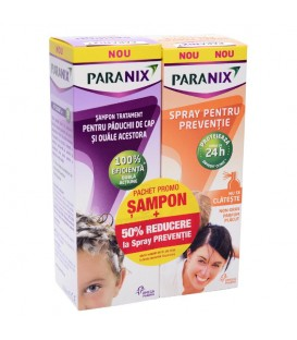Paranix sampon, 100 ml + Paranix Spray, 100 ml (promotie)