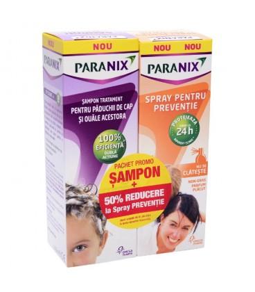Paranix sampon, 100 ml + Paranix Spray, 100 ml (promotie)