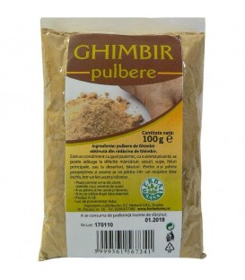 Ghimbir Pulbere, 100 grame