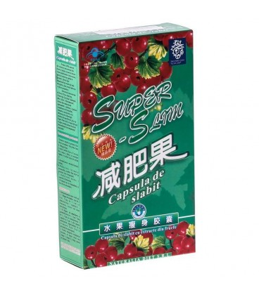 Capsula de slabit Super Slim, 30 capsule