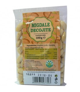 Migdale crude, 100 grame