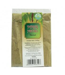 Piper negru macinat, 40 grame
