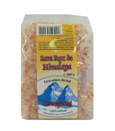 Sare de Himalaya grunjoasa, 500 grame