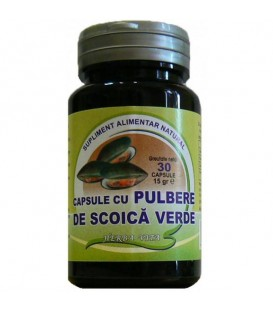 Scoica verde, 30 capsule