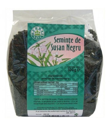 Seminte de susan negru, 300 grame