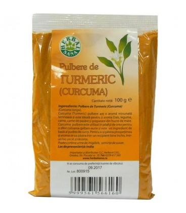 Pulbere de Turmeric (CURCUMA), 100 grame
