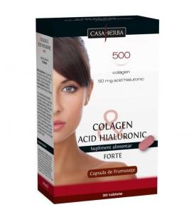Colagen & Acid Hialuronic Forte, 30 capsule