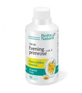Evening Primrose + vitamina E, 90 capsule