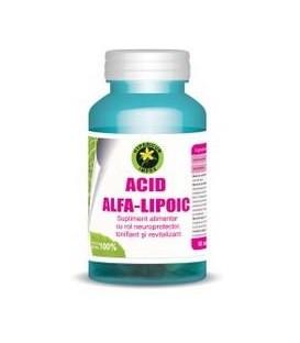 Acid alfa lipoic, 60 capsule
