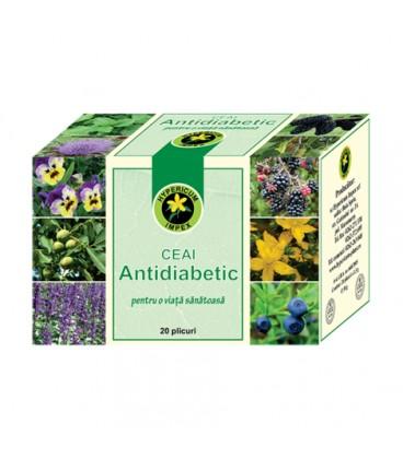 Ceai antidiabetic, 20 doze
