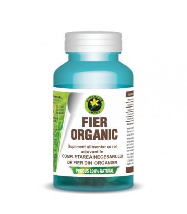 Fier Organic 230 mg, 60 capsule
