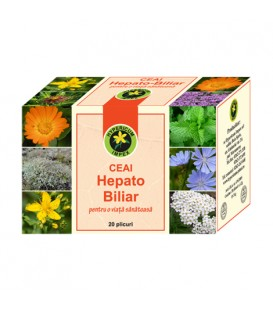 Ceai Hepato-biliar, 20 doze