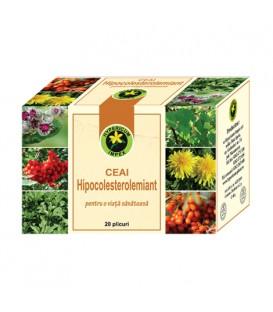 Ceai Hipocolesterolemiant, 20 doze