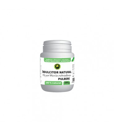 Hyper-Stevia Rebaudiana Pulbere, 100 grame
