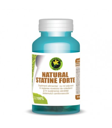 Natural Statine Forte 325.8 mg, 60 capsule