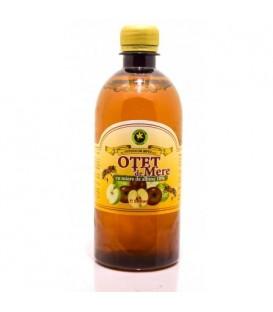 Otet de mere cu miere de albine, 500 ml