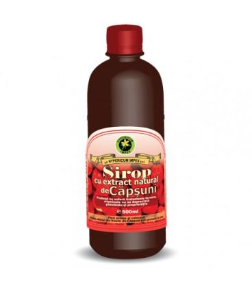 Sirop de capsuni, 500 ml