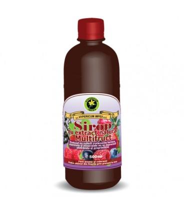 Sirop Multifruct cu zahar, 500 ml