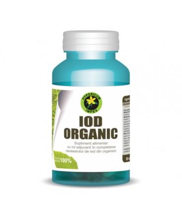 Iod Organic 360mg, 60cps