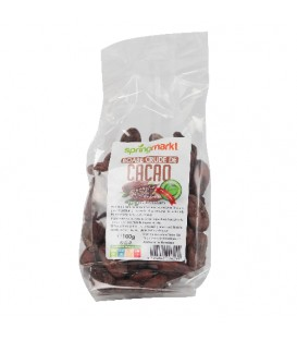 Cacao boabe crude, 100 grame