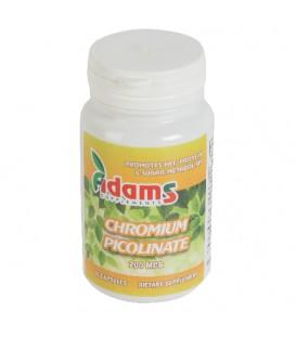 Chromium picolinate 200mcg, 30 capsule
