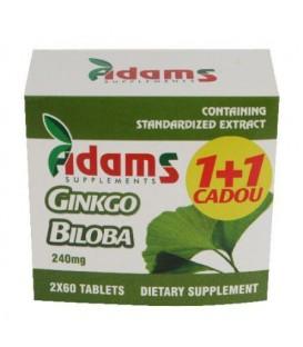 Ginkgo Biloba, 60 capsule (1+1 gratis)