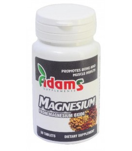 Magneziu 375 mg, 30 tablete
