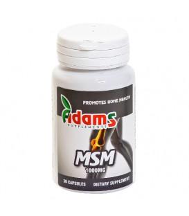 MSM 1000 mg, 30 capsule