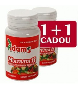 Multivita 13, 30 comprimate 1+ 1 gratis