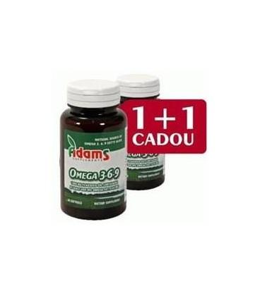 Omega 3-6-9, 30 capsule  1+1 gratis