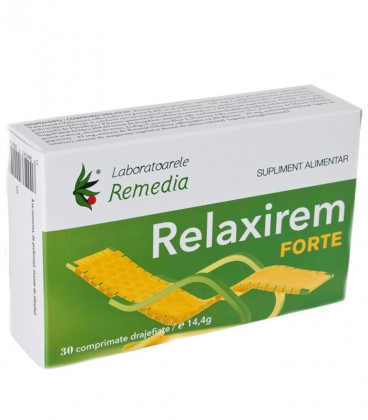 Relaxirem forte, 30 comprimate