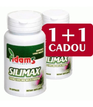 Silimax 1500 mg,  30 capsule 1+1 gratis