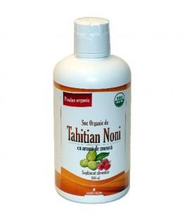 Tahitian Noni suc cu aroma de zmeura, 946 ml