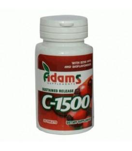 Vitamina C 1500 mg cu macese, 30 tablete