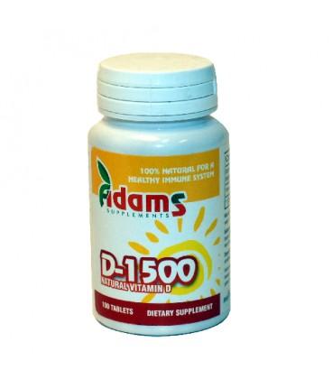 Vitamina D 1500 mg, 60 tablete