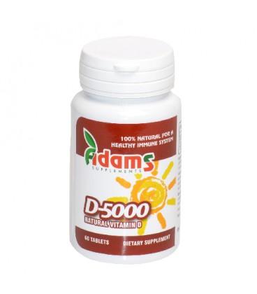 Vitamina D 5000 mg, 60 tablete