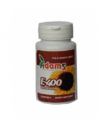 Vitamina E 400 mg (sintetica), 30 capsule